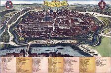 Reproduction plan ancien de Vienne (Wien) 1617