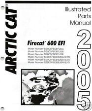 2005 ARCTIC CAT FIRECAT 600 EFI SNOWMOBILE PART MANUAL