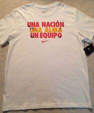 Nike Spain Futbol Nacion Alma Equipo Pride shirt soccer FC team men slim fit