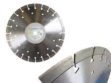 Diamant-Trennscheibe Diamantscheibe 300 350 Beton Granit mit 14 mm Segmenthöhe!