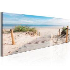 Leinwand Bilder xxl Wandbild Panorama Landschaft See Strand Meer c-B-0158-b-a