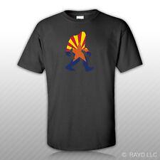 Arizona Bigfoot T-Shirt Tee Shirt AZ big foot sasquatch yeti