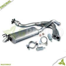 Komplette Auspuffanlage ab Kat + Montagesatz VW POLO 9N 1.4 Schrägheck 2001-2009