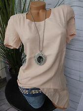 Heine B.C. Shirt Tunika Bluse Gr. 34 bis 46 Rose Ton asymetrisch (801) NEU