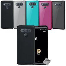 Housse etui coque pochette silicone gel fine pour LG G6 + verre trempe