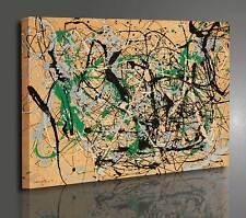 Quadri astratti 130x90 telaio stampe su tela canvas arredamento arte  XXL 1284