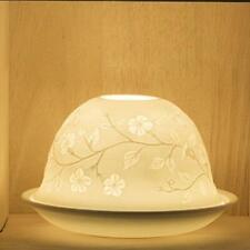 Teelicht / Teelichthalter ~ Nordische Lichtee  ~ Keramik / Porzellan Kerze
