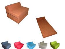 Matelas lit futon sofa fauteuil pliable pliant 200x70x10 cm chauffeuse 1 place