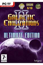 Galactic Civilizations 2: Ultimate Edition (PC CD), ottima Windows Vista, Win