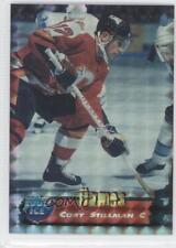 1995-96 Collector's Edge Ice Prism 74 Cory Stillman Saint John Flames (AHL) Card