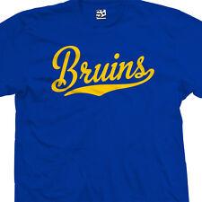 Bruins Script Tail Shirt - High School Sports Baseball Team - All Sizes & Colors