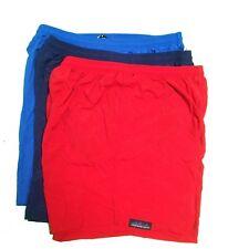 "Nylon Lifeguard Swim Trunk Basic Short 7"" Navy~Red~Royal S/XL/2X"