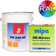 2K Acryllack RAL 9005 Tiefschwarz Holz Maschinen Industrielack LKW NFZ Lack Mipa