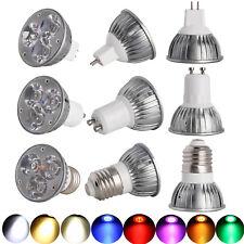 MR16 LED Spotlight 12v Dimmable GU10 E27 Spot lights RGB Bulb 3W 110V 220V Lamp