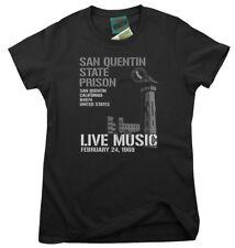 JOHNNY CASH inspired SAN QUENTIN, Women's T-Shirt