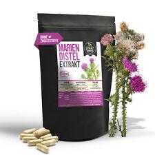 Mariendistel Kapseln 10:1 Extrakt aus Samen 80% Silymarin Mariendistelextrakt