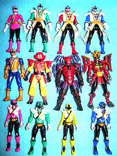 "Power Rangers Samurai ""Super"" Samurai figures choisissez votre Ranger incl Mooger"