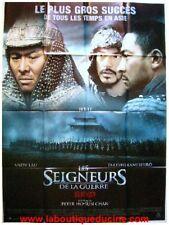 SEIGNEURS DE LA GUERRE Affiche Cinéma / Poster JET LI