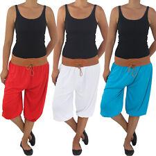 3/4 Capri Shorts Bemuda feature Anca Pantaloni Estate Pantaloni Aladin Pluder Pump Harem Pantaloni