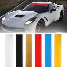 "152CM 6""x60"" Car Vinyl Windshield Decal Strip Racing Stripe Sticker Decor Hot CA"
