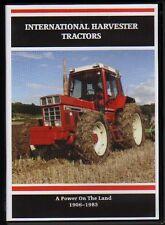Tractor Farming DVD: INTERNATIONAL HARVESTER TRACTORS 1906 - 1985