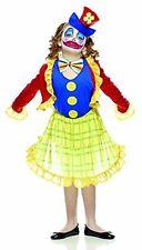 Costume Carnevale bambina clown fiorella *05277 pagliaccio