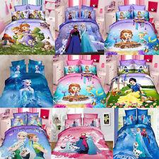 Frozen Princess Single/King Single Size Bed Quilt/Doona/Duvet Cover Set Linen