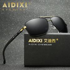 2018 Luxury Mens HD Polarized Aviator Sunglasses Driving Fishing Retro Eyewear