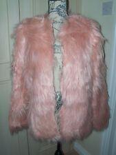 NEW Girls / Small Ladies Mongolian Faux Fur Coat
