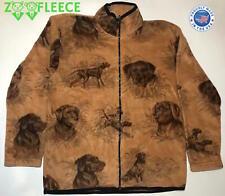 ZooFleece Winter Chocolate Labs Dog Puppy Jacket Coat Sweater Pet Labrador S-3X