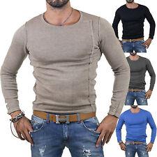 MAGLIA Uomo CARDIGAN slim fit Pullover Maglione sopra Giacca Felpa Camicia N15