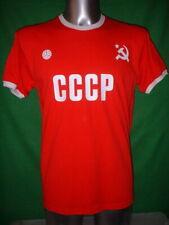 1f6c84de7 Russia CCCP S M L XL Football Shirt New Jersey Soccer Fan USSR Top Cotton  Retro