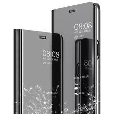 Hülle Samsung A10 A20e A40 A50 A70 (2019) View Handy Case Flip Cover Spiegel