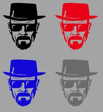 Aufkleber Sticker Heisenberg Walter White Breaking Bad  div. Farben