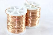 Copper Artistic Wire - Non Tarnish Copper - Jewellery Wire 18,20,22,28 Gauge,