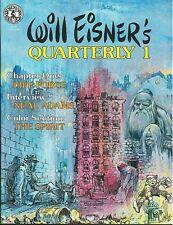Will Eisner's Quarterly 1,2 Lou Fine,Neal Adams,Comix +