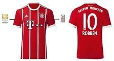 Trikot Adidas FC Bayern München 2017-2018 Home BL - Robben 10 [128 bis 3XL] FCB