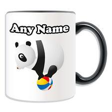 Personalised Gift Ball Panda Mug Money Box Cup Animal Sealife Design Black White