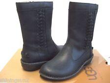 Ugg Kaleen Black Women Boots US6/UK4.5/EU37/JP23