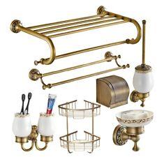 Bathroom hardware set Antique Brass Carved Bathroom Products