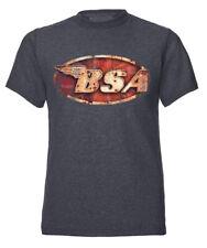 BSA Logo British Motorcycles Bike Motorbike Official Tee T-Shirt Mens Unisex