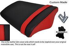 BLACK&RED CUSTOM FITS TRIUMPH DAYTONA 675 06-12 REAR PILLION SEAT COVER