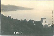 CARTOLINA d'Epoca - IMPERIA: MORTOLA