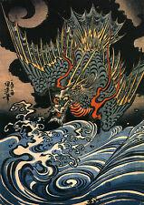 Utagawa Kuniyoshi: Dragon. Fine Art Print/Poster