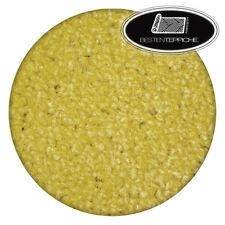 Rund Langlebig Modernen Teppichboden ETON gelb große Größen Teppiche nach Maß