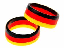 Fan Ring Fingerring Deutschland schwarz rot gold WM 2018 Russia (2-er Set)