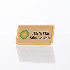 Personalised Framed Staff Name Badges