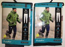 MEN'S CLIMATESMART FLEX-FIT LIGHTWEIGHT BASE LAYER PANT THERMAL $42 MSRP