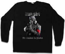 IRON SKY Soldier Manica lunga T-shirt soldato CAMPANA UFO Haunebu Vril