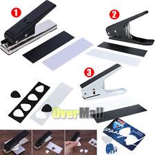 Guitar Pick Punch DIY Maker Hole Punch Plastic Card Cutter Machine + 2 Cut Board